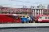 CR HXD3D-0671, DF4D-4136, DF11G-0062, HXD3D-0257 & SS9-0046 at Beijing Loco Shed