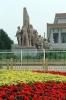 China, Beijing - Tiananmen Square, Mausoleum of Mao Zedong
