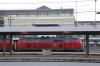 DB 218419/218428 wait to depart Munchen Hbf with EC192 1633 Munchen Hbf - Basel SBB