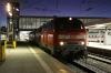 DB 218419/218428 wait to depart Munchen Hbf with EC196 0714 Munchen Hbf - Zurich Hbf