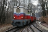 Budapest Children's Railway - MAV Mk45-2005 arrives into Huvosvolgy with a late running 132 1003 Szechenyihegy - Huvosvolgy
