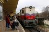 Budapest Children's Railway - MAV Mk45-2005 waits to depart Huvosvolgy with 135 1110 Huvosvolgy - Szechenyihegy