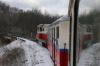 Budapest Children's Railway - MAV Mk45-2005 leads 135 1110 Huvosvolgy - Szechenyihegy between Szepjuhaszne & Janoshegy