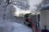 Budapest Children's Railway - MAV Mk45-2005 leads 135 1110 Huvosvolgy - Szechenyihegy between Janoshegy & Csilleberc