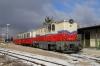 Budapest Children's Railway - MAV Mk45-2005 at Szechenyihegy after arrival with 135 1110 Huvosvolgy - Szechenyihegy