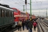 Nohabs M61-019, 459021, (459022) & M61-017 pause at Szekesfehervar with MAV Nostalgia's Vulcan Fast charter - 13292 0855 Kelenfold - Tapolca