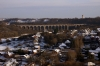 Conisbrough Viaduct as seen from the top of Conisbrough Castle