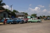 Matanzas old Railway Station, now used as the town's bus station and share taxi rank; a haven for old cars of all shapes, sizes and colours!