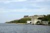 From Muelle Luz - Casablanca Ferry (Havana), Morro Castle (L) & Fortaleza de San Carlos de la Cabana (R)