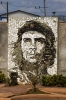 Che Guevara mural just south of Calixto Gracia, Matanzas