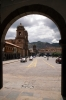 Cusco, Peru - Compania Church & Merced Church