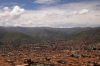 Cusco, Peru - from the statue of the White Christ above the city