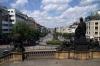 Prague - Wenceslas Square from National Museum steps