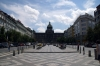 Prague - National Museum from Wenceslas Square