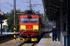 CD 151014 arrives into Praha Holeovice with 36139 0554 Cheb - Praha HN