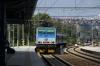CD 162038 arrives into Praha Holeovice with R681 0924 Decin HN - Praha HN