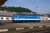 CD 362123 runs round its stock at Praha Smichov having just arrived with R988 0658 Havlickuv Brod - Praha Smichov