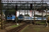 CD 362131 arrives into Praha Smichov with EC354 0915 Praha HN - Munich HB while CD 362123 runs round its stock having just arrived with R988 0658 Havlickuv Brod - Praha Smichov