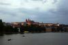 Prague - Prague Castle from Most Legii Bridge