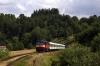 CD 749121 arrives into Vilemovice with 9207 0912 Cercany - Svetla nad Sazavou