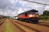 CD 749121 at Svetla nad Sazavou after arrival with 9207 0912 Cercany - Svetla nad Sazavou