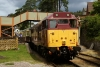 31466 at Parkend with the 1227 Parkend - Lydney Jct