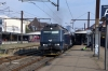 DSB ME1523 departs Valby with 2243 1458 Osterport - Nykobing Falster