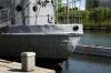 North Korea, Pyongyang - Victorious Fatherland Liberation War Museum - Captured spy-ship USS Pueblo
