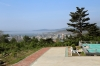 North Korea, Rajin - View of Rajin from the road leading to Songbong