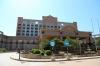 North Korea, Rason Area - Emperor Hotel & Casino on the coast, at the entrance to Pipha Island