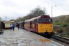 31466 at Rawtenstall after arrival with the 1215 Heywood - Rawtenstall