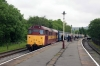 31466 at Rawtenstall with the 1105 Rawtenstall - Heywood