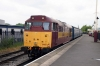 31466 at Heywood after arrival with the 1340 Rawtenstall - Heywood