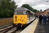 31414 at Duffield after arrival with the 1020 Wirksworth - Duffield