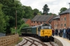 31414 at Duffield after arriving with the 1220 Wirksworth - Duffield