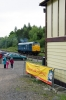 31119 runs round its train at Bolton Abbey during the EBAR's Thomas Weekend