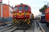 FCCA EMD JT26CW-2B 701 waits to depart Huancayo with FCCA's 0700 Huancayo - Lima Los Desamparados tourist train