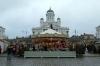 Helsinki, Finland - Helsinki Cathedral & Christmas Market in Senate Square