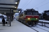 VR Sr1 3063 waits to depart Oulu with IC413 1503 Oulu - Rovaniemi