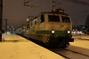 VR Sr1 3034 waits to depart Oulu with P262 1525 Kolari - Helsinki; having replaced Dr16's 2820/2816