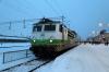 VR Sr1 3080 at Rovaniemi after arrival with IC273 2152 (P) Helsinki - Rovaniemi