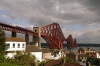 The Forth Bridge from the North Queensferry side