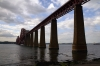 The Forth Bridge from the Dalmeny side