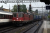 SBB Cargo Re4/4 11332 & Re6/6 11673 run through Liestal with a freight