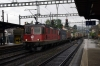 SBB Cargo Re4/4 11334 & Re6/6 620069 run through Liestal with a freight