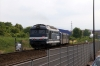 SNCF 67512 turns left onto the Barr line having just departed Molsheim with 831748 1701 Strasbourg - Barr