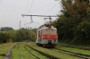 SR 4E10.2-1768 runs around its train at Tskaltubo after arrival with 6374 0910 Kutaisi 2 - Tskaltubo