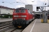 DB 218488 at Munich HB after arrival with 57411 1408 Memmingen - Munich HB