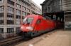 DB 182012 at Friedrichstrasse with 18109 0808 Magdeburg - Frankfurt Oder