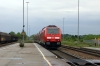 Newly arrived DB 245007 passes through Kaufering heading towards Munich with a driver training set